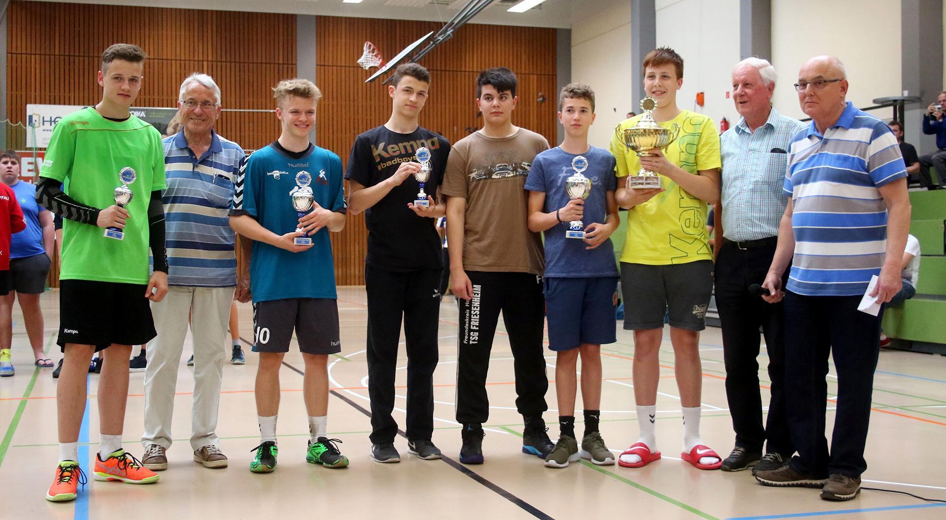 Andreas Hahn Stiftung - Förderung des Jugendhandballs in der Region