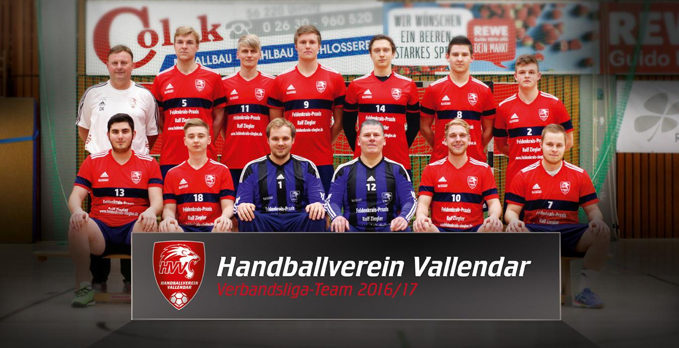 HVV Vallendar Team2 – Saison 2016-2017